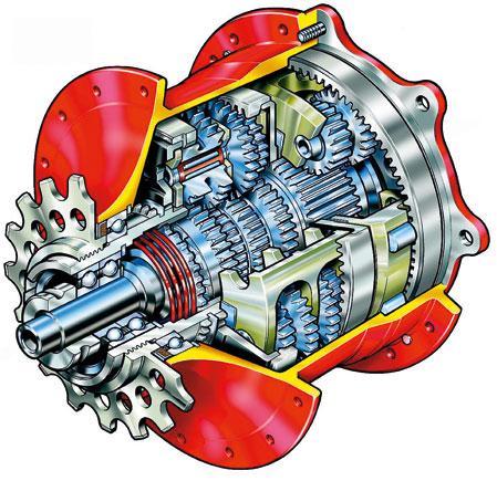 Hub-gears