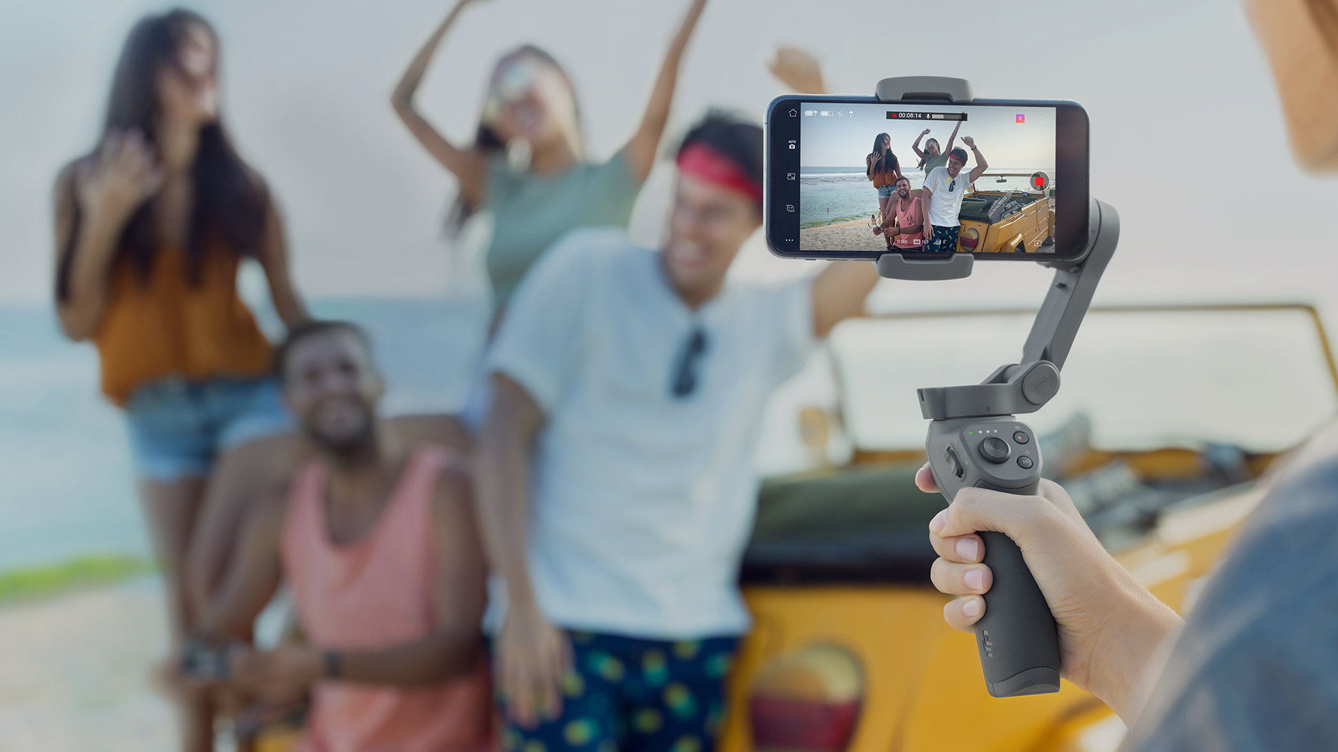 DJI strikes back against its smartphone-steadying rivals with the
