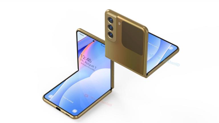 Galaxy Z Flip 3 concept