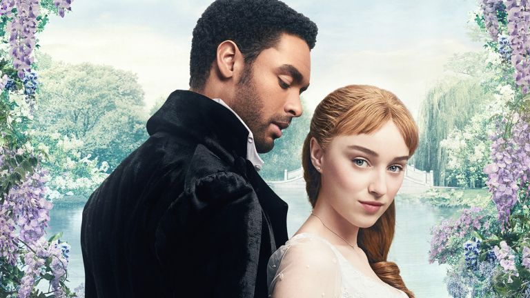 Netflix's Bridgerton promotional poster