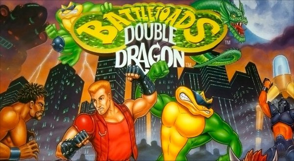 shadow master double dragon cartoon
