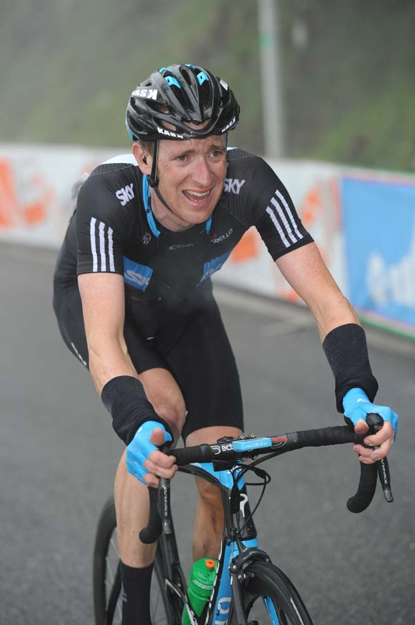 Bradley Wiggins, Giro d'Italia 2010, stage eight