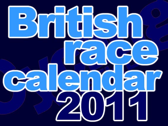 British race calendar 2011 logo