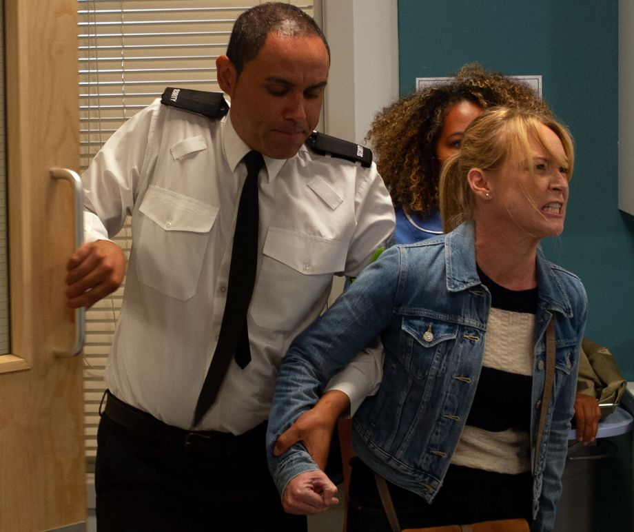 Vanessa's arrested in Emmerdale