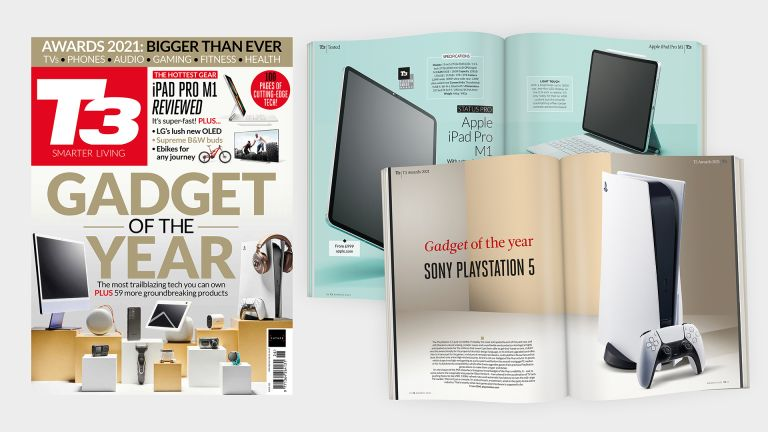 Cover of T3 issue 322 featuring the cover line 'Gadget of the Year'.