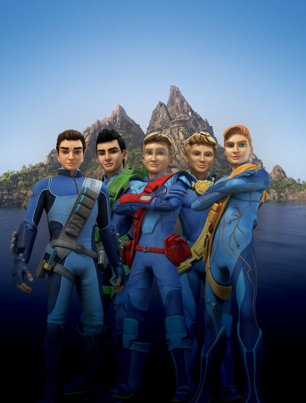 The new Thunderbirds