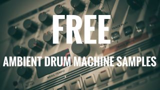 Free hybrid drum samples: 98 ambient electronic drum machine sounds