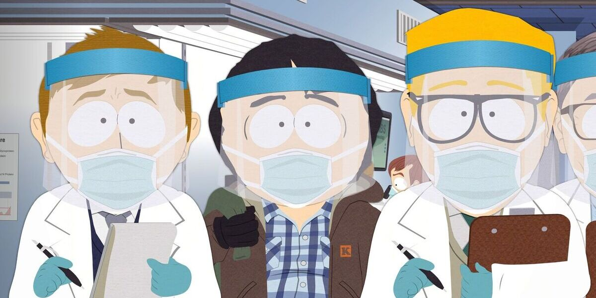comedy central south park pandemic special masks