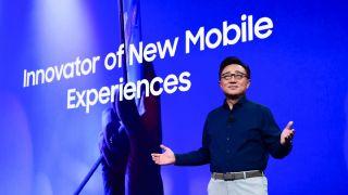 Samsung's CEO Koh Dong-jin.