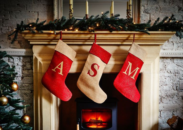 Stocking fillers: The Handmade Christmas Co. Christmas stockings