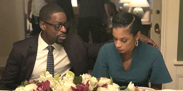 Sterling K. Brown as Randall Pearson and Susan Kelechi Watson as Beth Pearson on This Is Us NBC