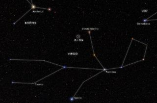 59 Virginis in the Constellation of Virgo