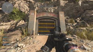 Call of Duty Warzone bunker door