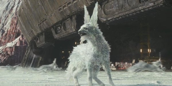 The Crystalline Creature From The Last Jedi