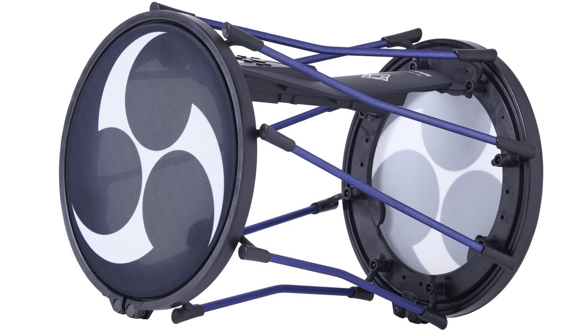 Roland's TAIKO-1 is an electronic drum for traditional Japanese percussionists