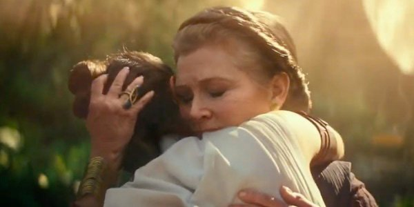 Carrie Fisher first look in Star Wars Episode IX