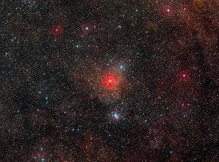 Field Around Yellow Hypergiant Star HR 5171