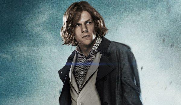 Jesse Eisenberg is Lex Luthor
