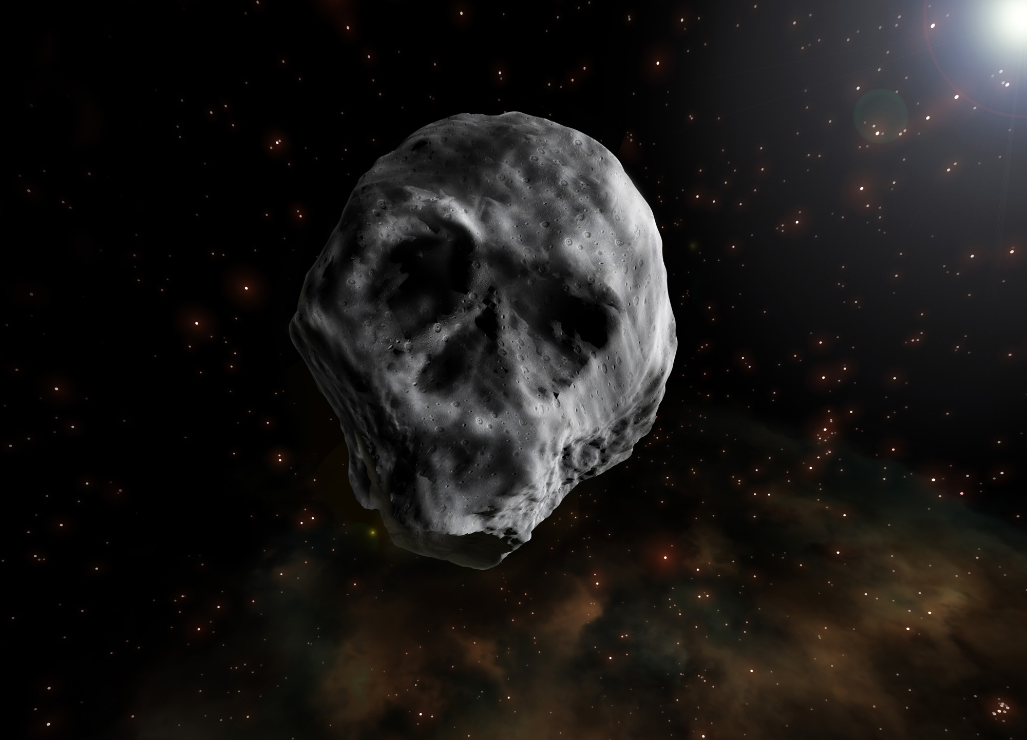 Halloween Asteroid Returning In 2020 Haunted Again: Skull Faced 'Halloween Asteroid' Returns in 2018
