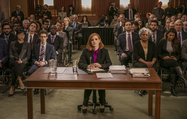 Miss Sloane Jessica Chastain desk