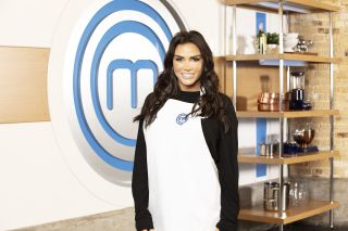 Katie Price is oven-ready for Celebrity MasterChef.