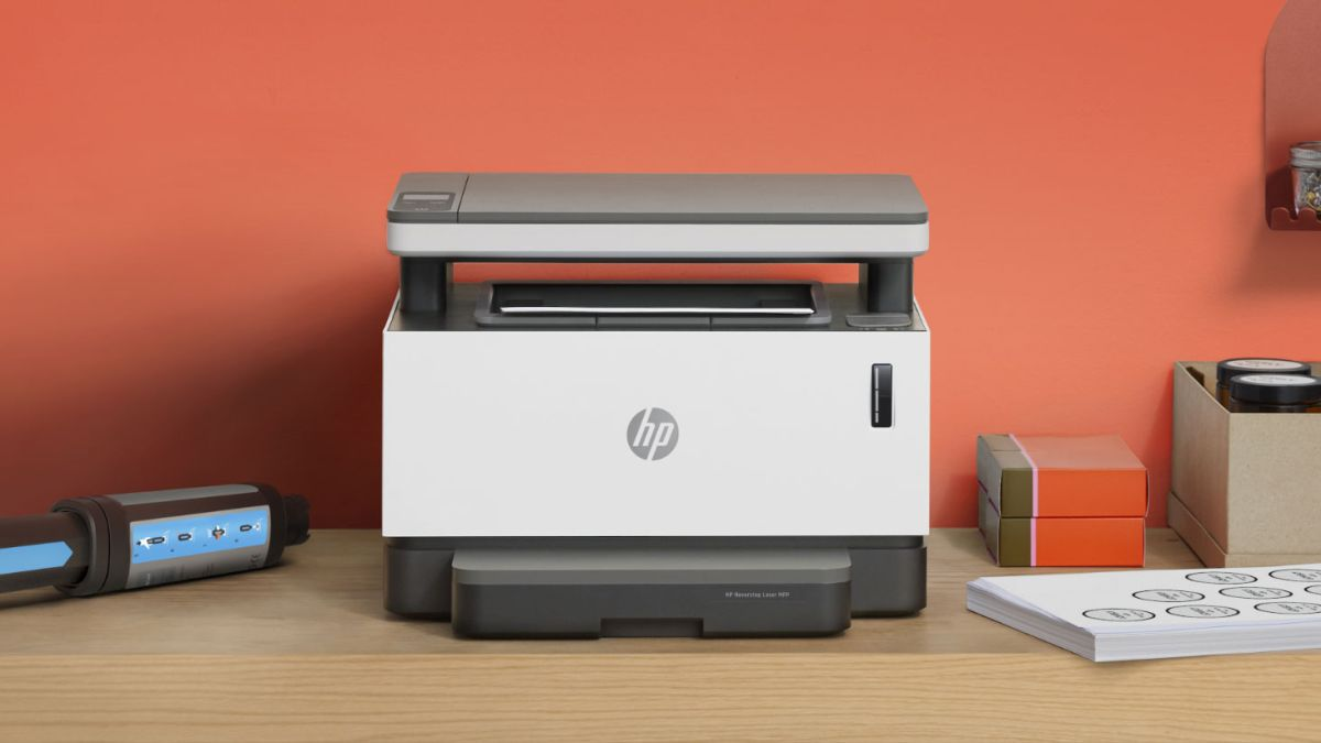 Not your average printer: HP Neverstop Laser Tank 1202w