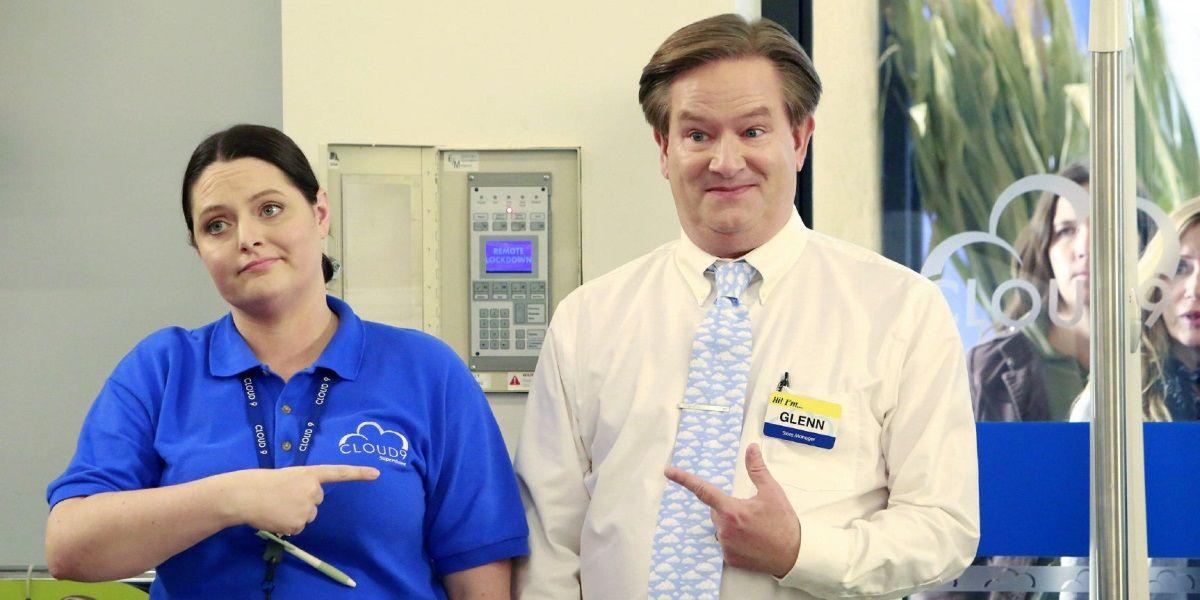 Mark McKinney as Glenn Sturgis in Superstore.