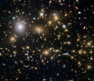 The NASA/ESA Space Telescope has found numerous faint and early galaxies formed in the universe. The light from these early galaxies took 12 billion years to reach us.