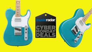 This limited edition G&L Tribute ASAT Classic Bluesboy is just $299 for Cyber Monday – and selling fast