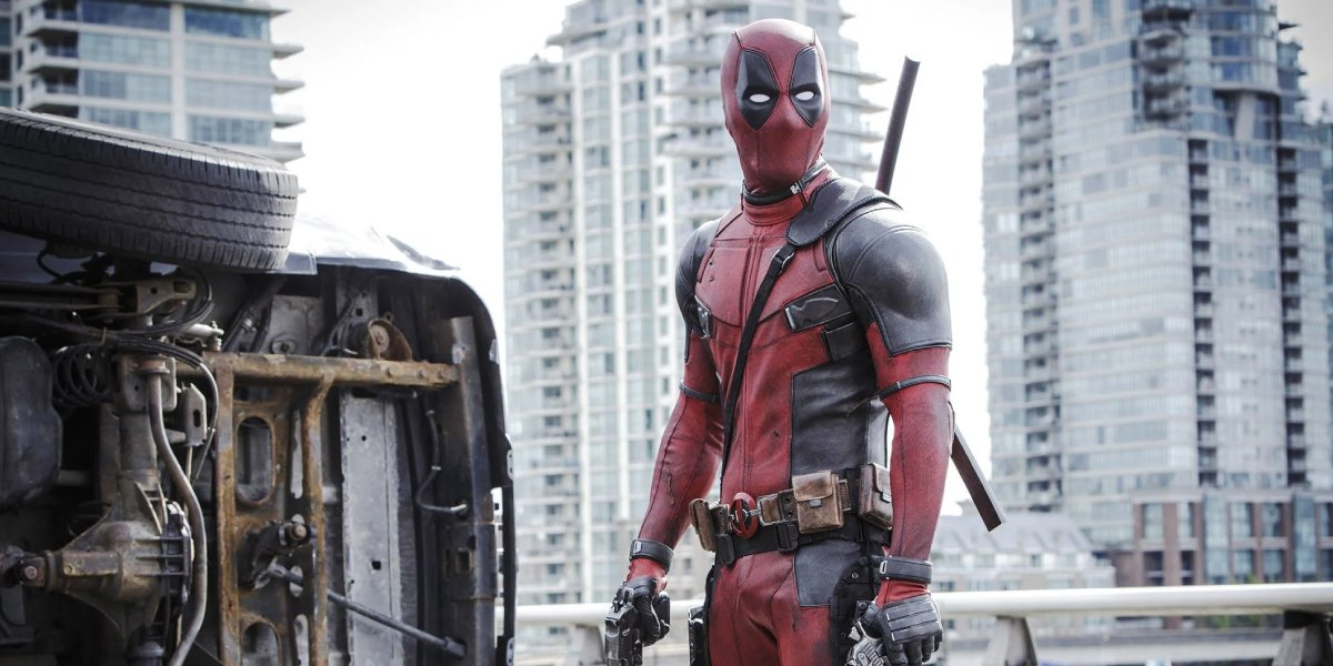 Ryan Reynolds as the foul-mouthed, overly violent mercenary Deadpool