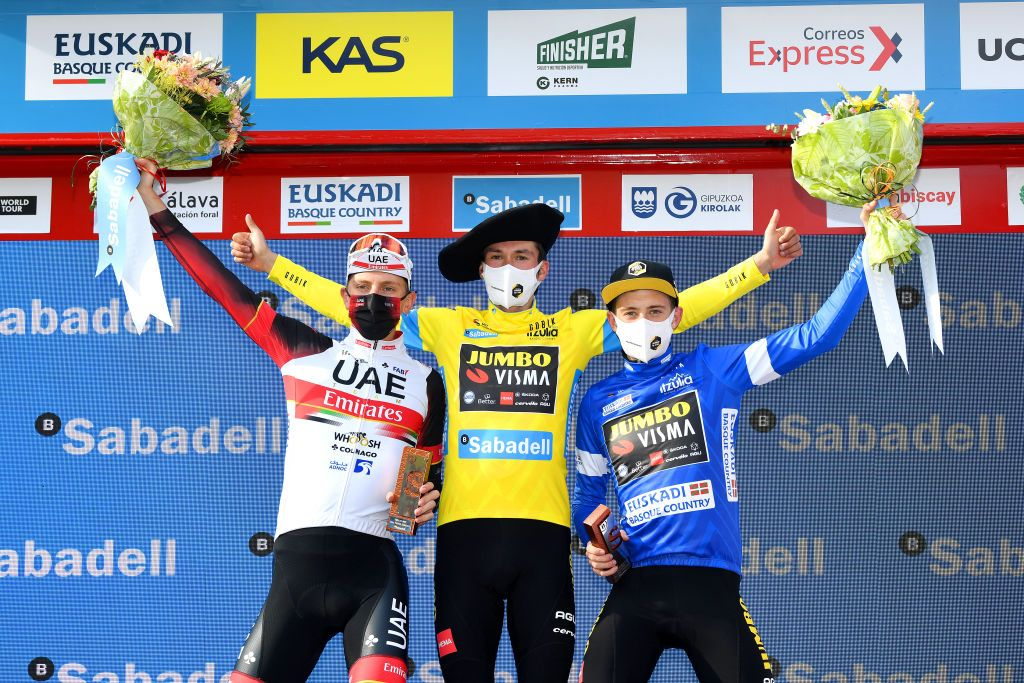 Jumbo-Visma celebrate their dominance at Itzulia Basque Country