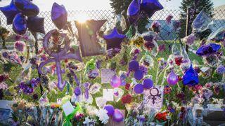 Prince tributes at Paisley Park