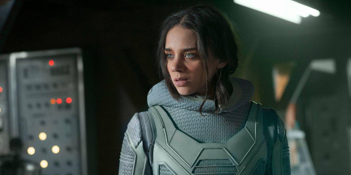 Hannah John-Kamen in Ant-Man and the Wasp