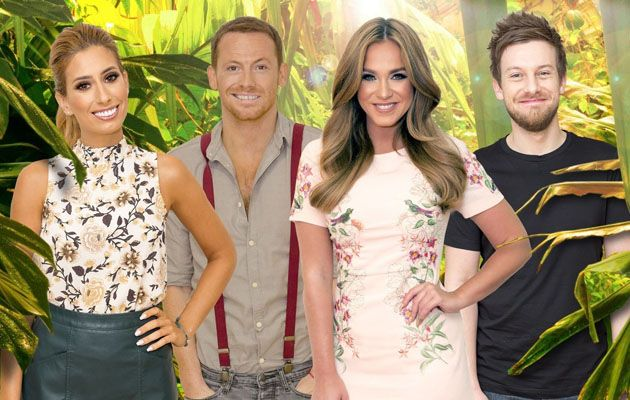 I'm a Celeb Extra Camp hosts