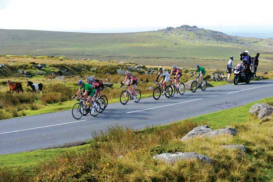 Dartmoor, Tour of Britain 2010