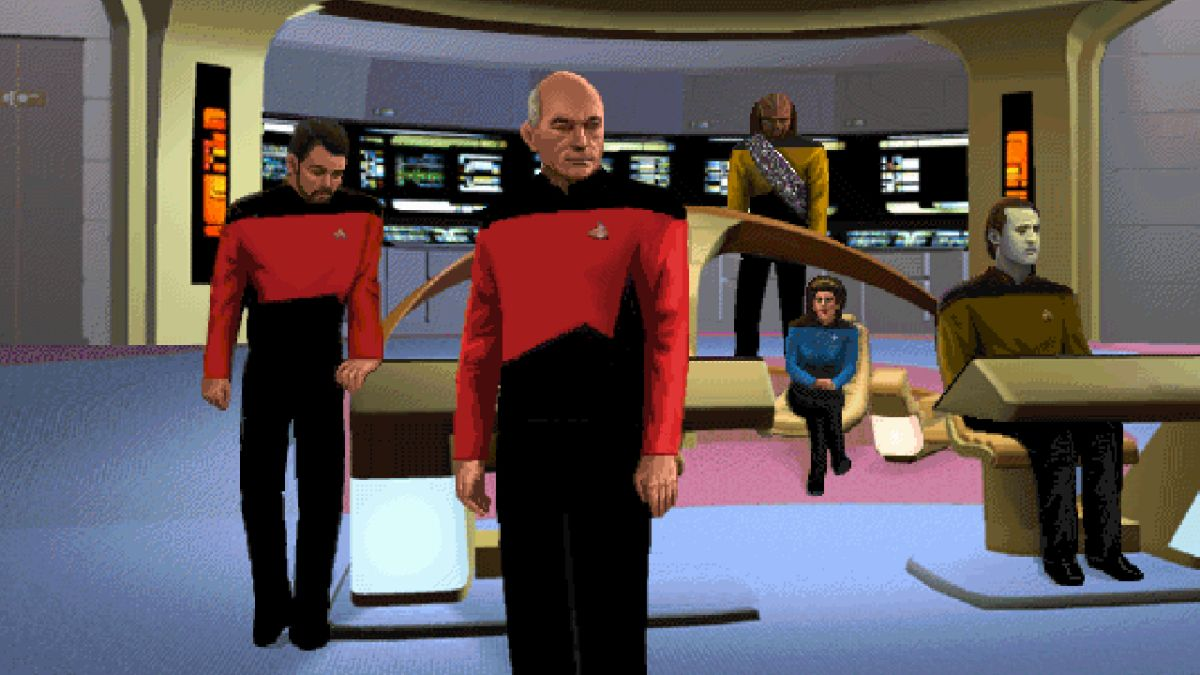 Captain Jean-Luc Picard: A history in PC games