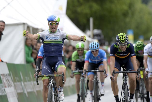 Michael Albasini wins stage one of the 2014 Tour de Romandie
