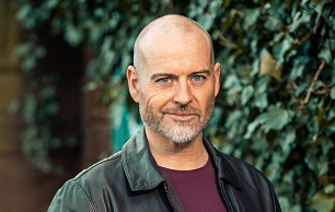 Fergus Collins played by Robert Beck in Hollyoaks