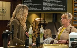 Emmerdale spoilers! Charity Dingle gets a visit from Ryan's angry adoptive mum Irene