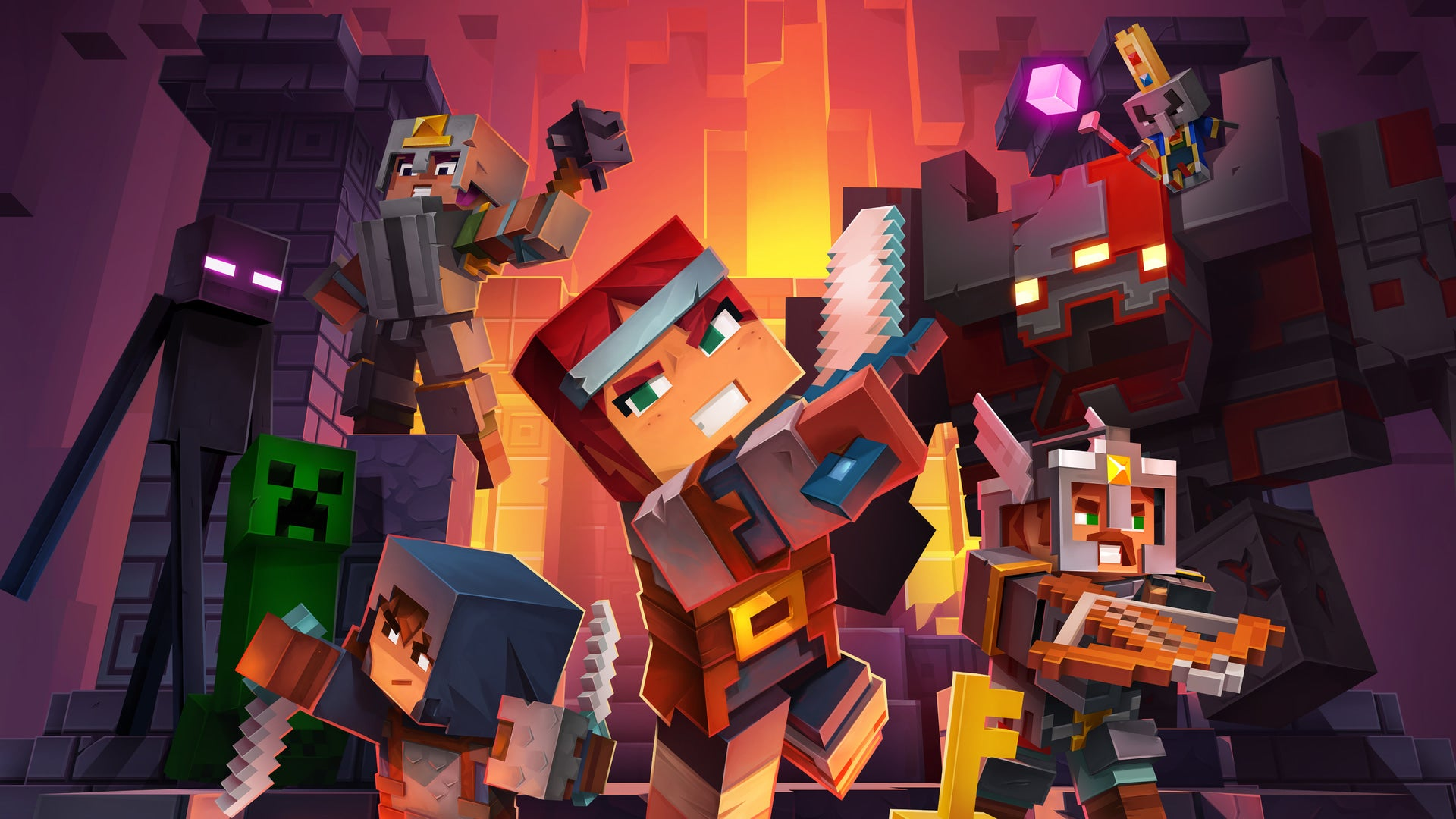 Hands on with Minecraft Dungeons, Mojang's unexpected expansion of ...