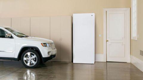 GE 21.3 Cu. Ft. FUF21SMRWW Frost-Free freezer