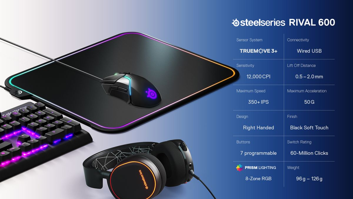 SteelSeries Rival 600 Review: Gaming Mouse Greatness | Tom's