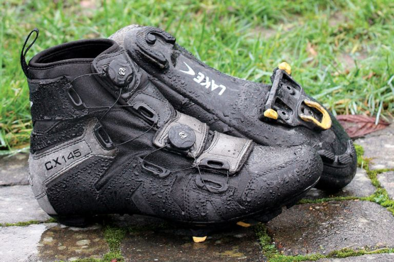 Lake CX145 waterproof cycling shoes are among the best winter cycling shoes