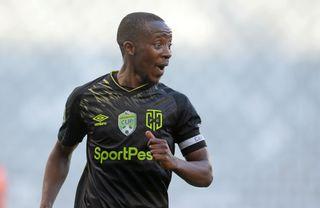 Cape Town City vice captain Thabo Nodada