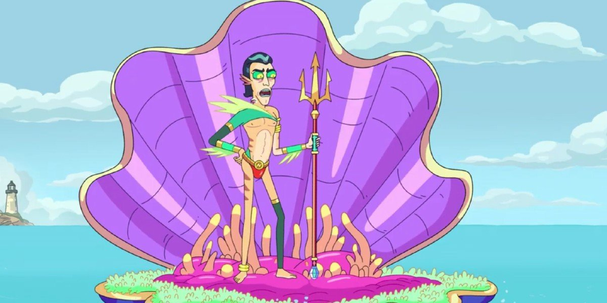 Mr. Nimbus chastising Rick and Morty Adult Swim