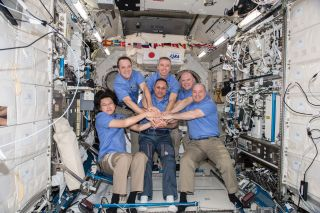 Expedition 55 crew