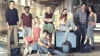 "The cast of ""Cruel Summer"" on Freeform"
