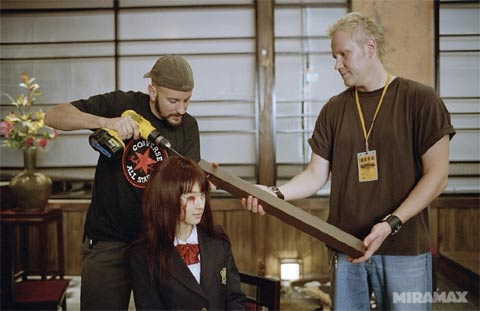 New Kill Bill Vol 1 Images Give A Glimpse Behind The Scenes Of The Crazy 88 Fight Cinemablend