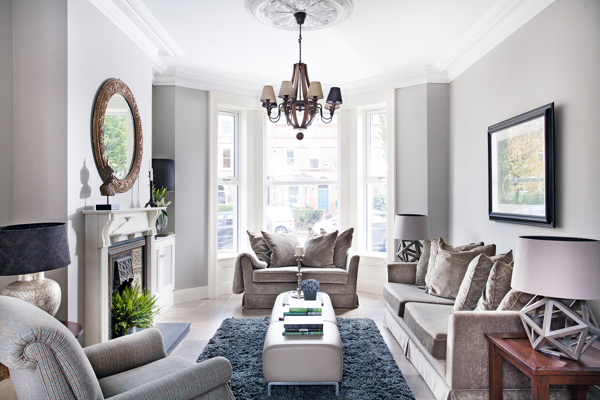 Real Home: A Stylishly Renovated Victorian Townhouse   Real Homes