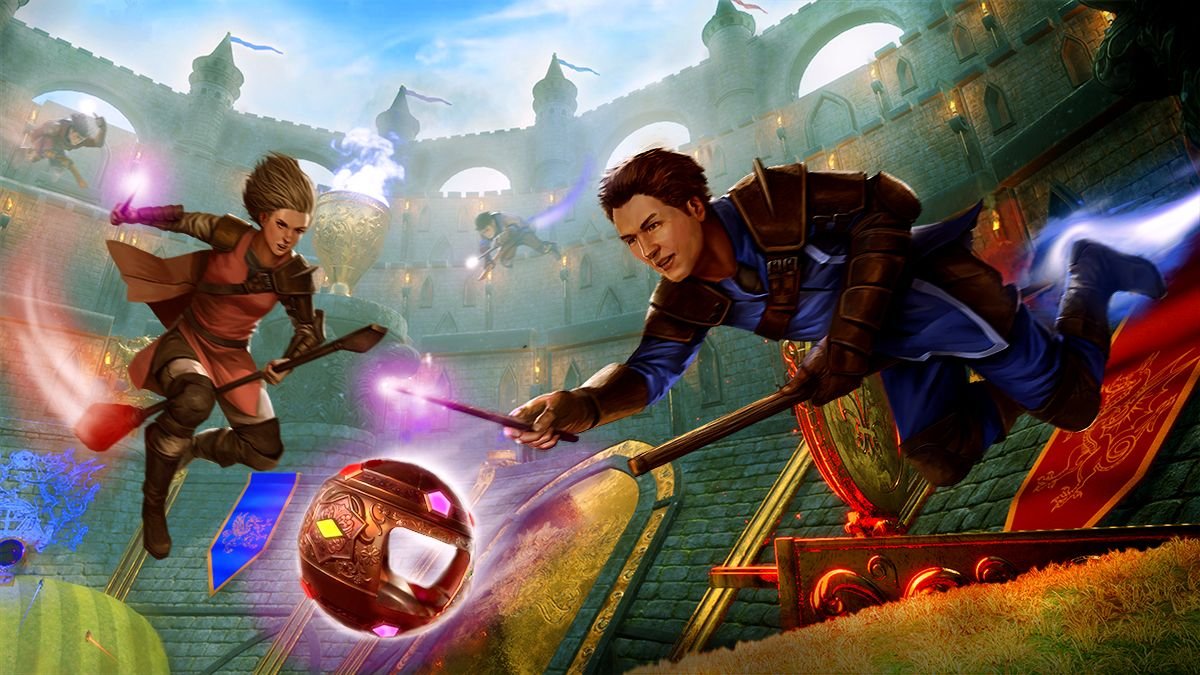 Broomstick League proves I won't be going to Hogwarts on a Quidditch scholarship